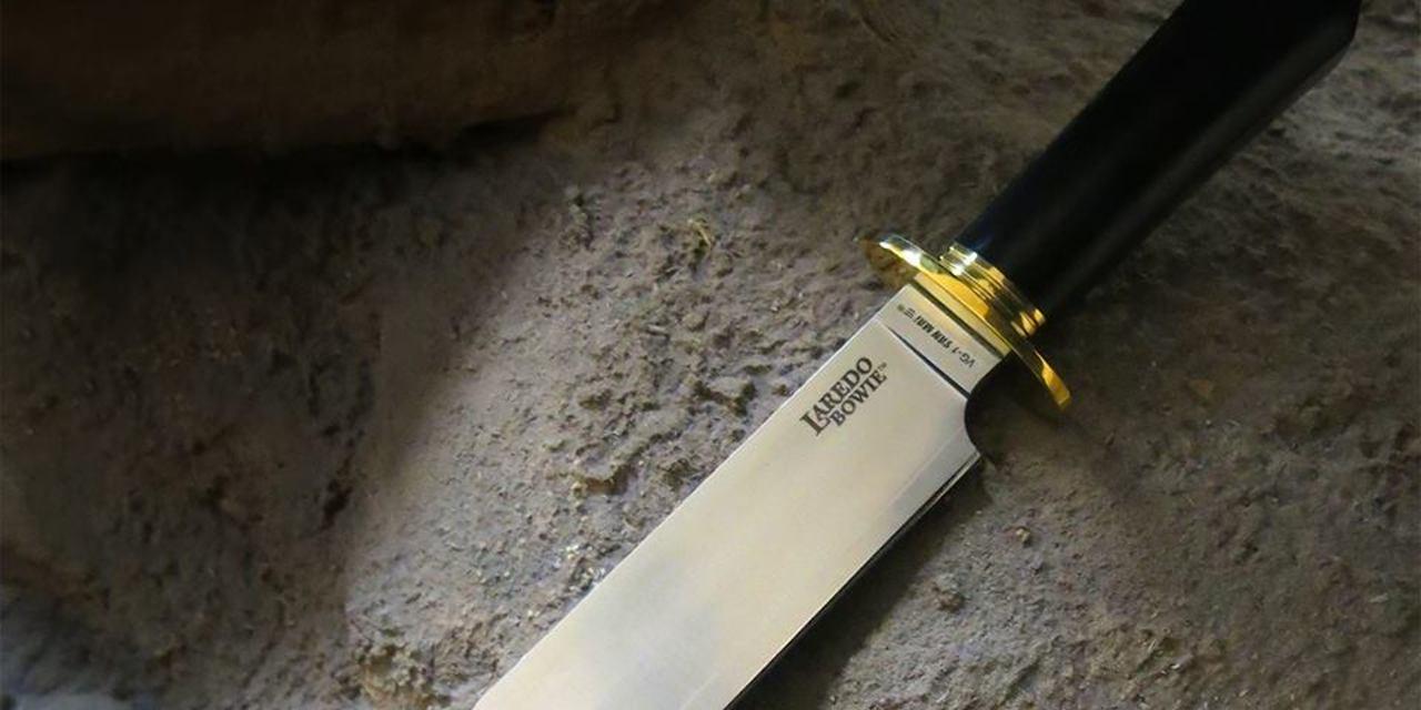 cold steel laredo bowie knife