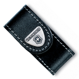 Buy Victorinox Swiss Army 33263 SwissFlash Belt Pouch, Black Leather at Country Knives.