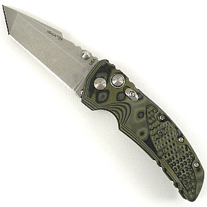 Buy Hogue  34168 EX-01 3.5 - Tanto / G-Mascus Green at Country Knives.