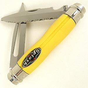 Buy Andre Verdier  AV2 Splash - Yellow at Country Knives.