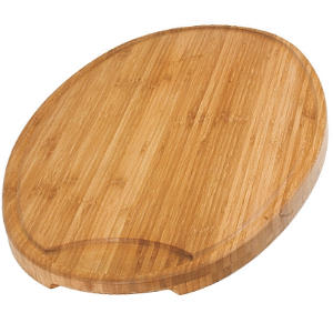 Buy Kai  BAMBOOCARV Bamboo Oval Carving Board,  with Groove at Country Knives.