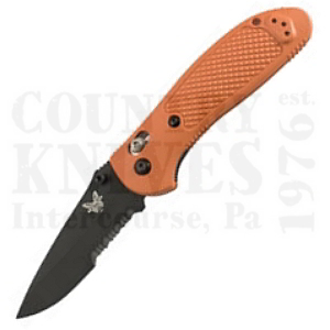 Buy Benchmade  BM551SBK-ORG Griptilian, Orange / BK1 / ComboEdge at Country Knives.