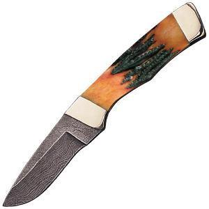 Buy Bear & Son  BRSB80D Drop Point Hunter - Red Bone Stag at Country Knives.