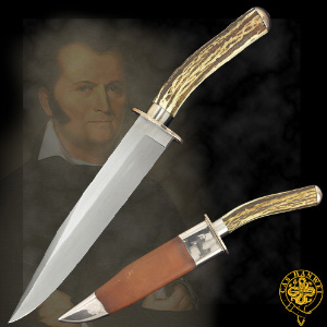 Buy Hanwei  CAS-KH2187 John Chevalier Bowie,  at Country Knives.