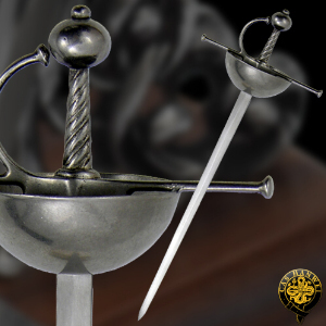 Buy Hanwei  CAS-MH2303 Miniature Spanish Cup-Hilt Rapier,  at Country Knives.