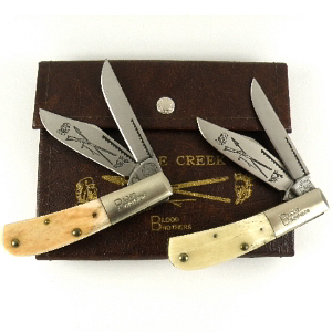 Buy Cripple Creek  CC1 BLOOD BROTHERS SET - with Storage Case at Country Knives.
