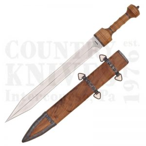 Buy Condor Tool & Knife  CTK1001-19.5HC Mainz Gladius Sword -  Leather Sheath at Country Knives.