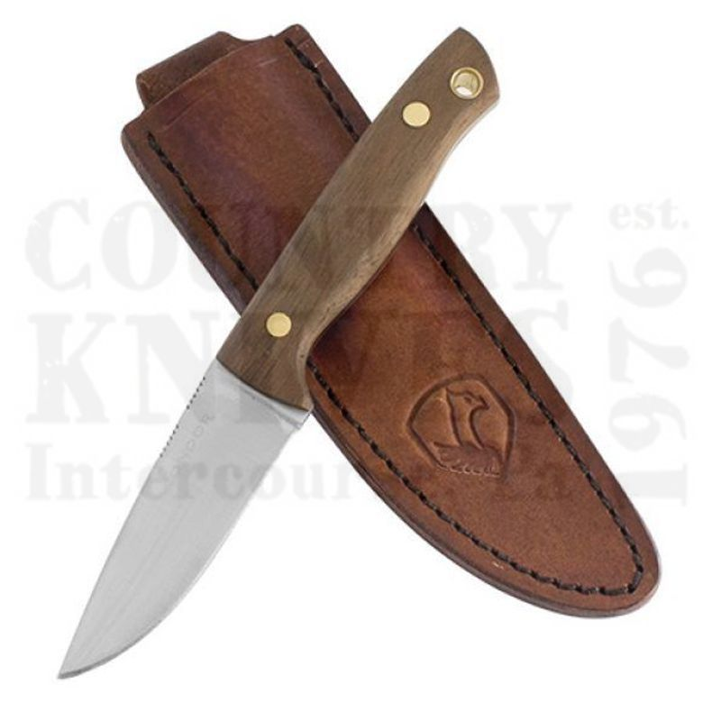 Buy Condor Tool & Knife  CTK150-3-4C Mayflower Knife -  Leather Sheath at Country Knives.