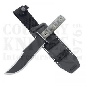 Buy Condor Tool & Knife  CTK1806-7.5 Operator Bowie Knife, with Leather Sheath at Country Knives.