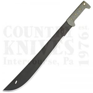"Buy Condor Tool & Knife  CTK2020HCM 18"" El Salvador Machete -  Leather Scabbard at Country Knives."
