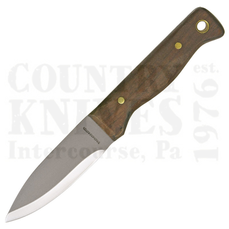 Buy Condor Tool & Knife  CTK232-4.3HC Bushlore Knife -  Leather Sheath at Country Knives.