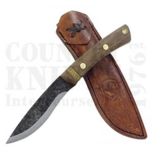 Buy Condor Tool & Knife  CTK2806-4.25 Huron Knife, with Leather Sheath at Country Knives.