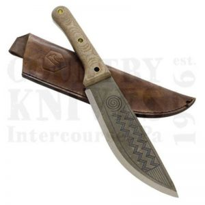 Buy Condor Tool & Knife  CTK3906-8.4 Primitive Sequoia Knife, with Leather Sheath at Country Knives.