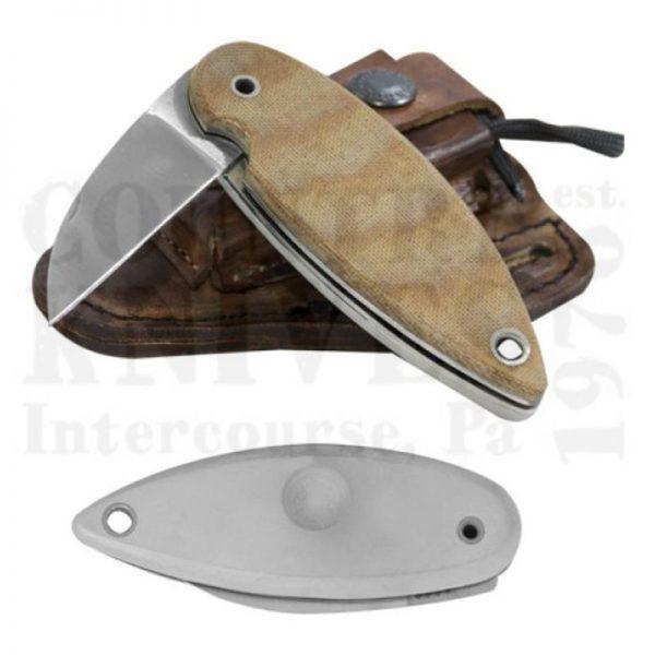 Buy Condor Tool & Knife  CTK3919-2.25 Primitive Bush Folder -  Leather Sheath at Country Knives.