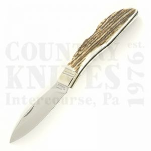 Buy Grohmann D.H. Russell DHR-H300S Lockback, Stag Antler at Country Knives.