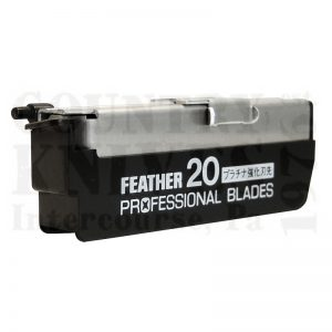 Buy Feather  F1-30-200 Artist Club Professional Blades, 20 Pack at Country Knives.