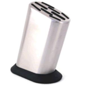 Buy Global  G-888P Stainless Steel  Eight Slot Knife Block -  at Country Knives.