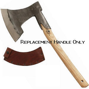 Buy Gränsfors Bruk  GBA484-H Replacement Handle for Swedish Broad Axe, Model 1700 at Country Knives.