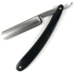 Buy Giardo  GI1051 5/8'' Straight Razor, Black at Country Knives.