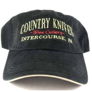 Buy Country Knives  HAT2 Baseball Hat, Black at Country Knives.