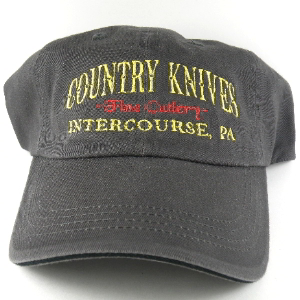 Buy Country Knives  HAT3 Baseball Hat, Gray at Country Knives.