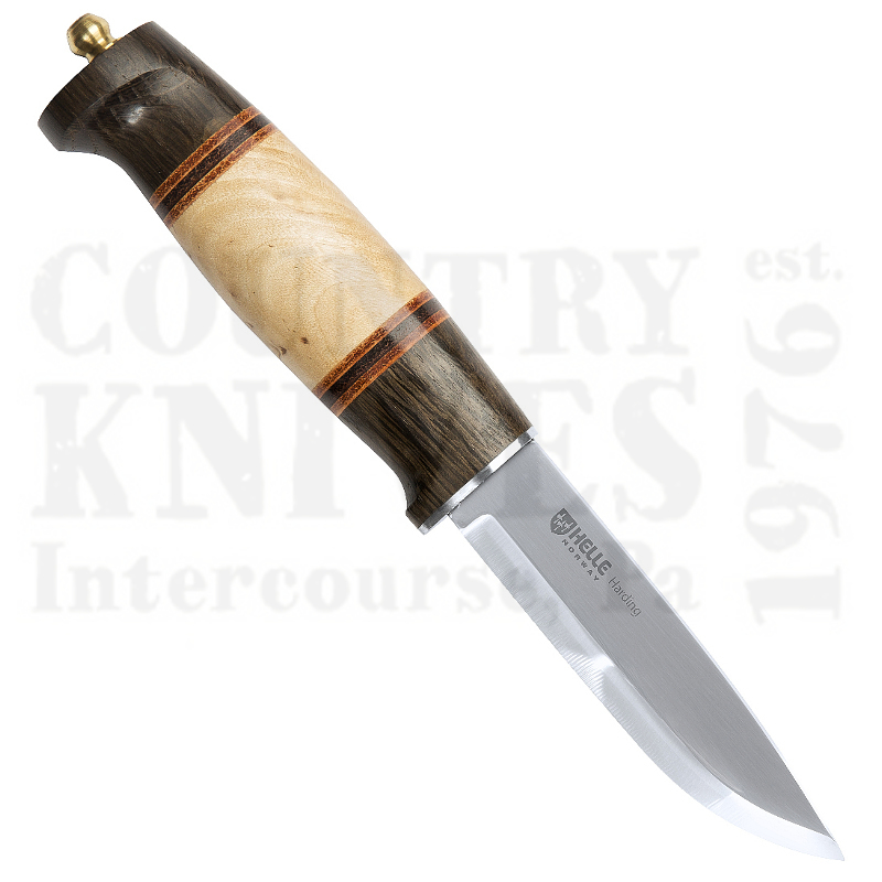Buy Helle  HE99 Harding - Red Oak & Curly Birch at Country Knives.
