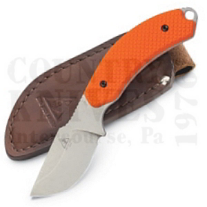 Buy Lone Wolf  LW40030-101 Skinner, Orange / Leather at Country Knives.