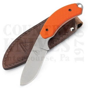 Buy Lone Wolf  LW40031-101 Drop Point, Orange / Leather at Country Knives.
