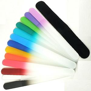 Buy Mont Bleu  MBLSA Glass Nail File, Large / Sage Green at Country Knives.