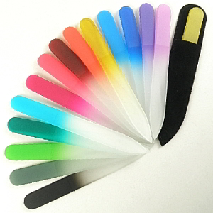 Buy Mont Bleu  MBSPK Glass Nail File - Small / Pink at Country Knives.