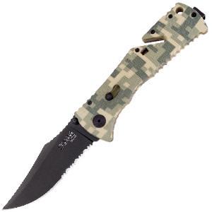 Buy SOG  SOGTF-10 Trident, Digital Camo / TiN at Country Knives.