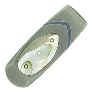 Buy William Henry  WHM1TNA Money Clip, Abalone / Titanium at Country Knives.