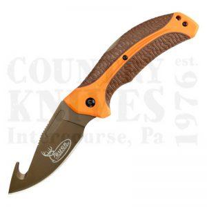 Kershaw1898GHORBRNBCLoneRock Guthook Folder – Orange / Brown