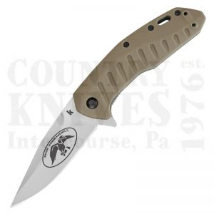 Buy Kershaw  K7422DC Bisland - Coyote Brown FRN at Country Knives.