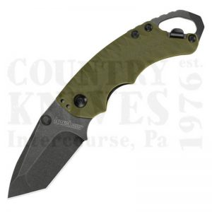 Buy Kershaw  K8750TOLBW Shuffle II, Olive FRN / Blackwash at Country Knives.