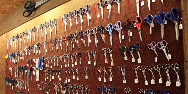 Country knives sells a variety of scissors for both home and personal applications