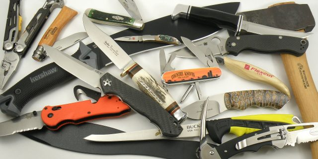 Hunting Knives, Sporting Knives & Outdoor Tools