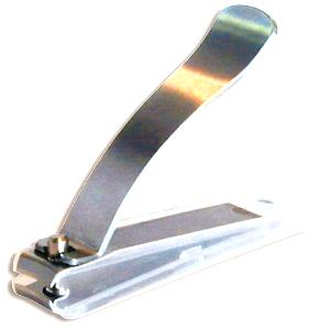 Buy Mehaz  9MC0662 Professional Toenail Clipper - Stainless / Curved at Country Knives.
