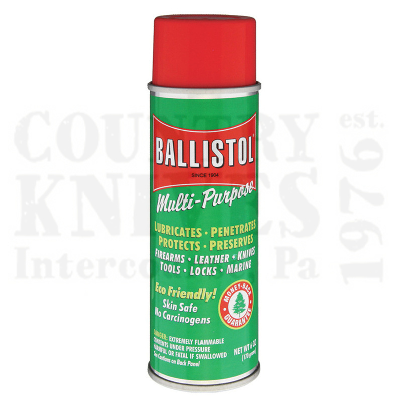 Buy Ballistol  BL6 Ballistol - 6 oz. Aerosol at Country Knives.
