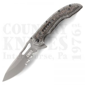 Buy CRKT  CR5461K Fossil Compact, TiN / Veff Edge at Country Knives.