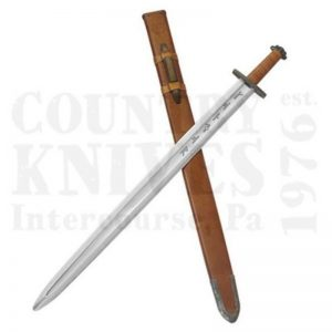 Buy Condor Tool & Knife  CTK1014-4 Viking Ironside Sword -  Leather Sheath at Country Knives.