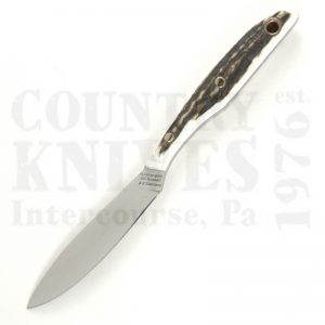 Buy Grohmann D.H. Russell DHR-2S-SG Trout & Bird, Stag Antler at Country Knives.