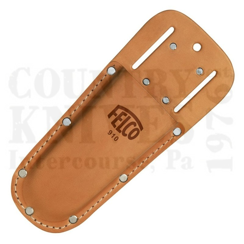 Buy Felco  F-910 Leather Holster - Round Bottom at Country Knives.