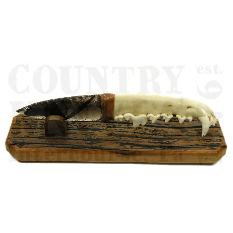 Buy Great Basin  GB10 Coyote Jaw Knife - with Stand at Country Knives.