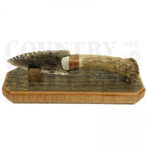 Great BasinGB4Small Deer Antler Knife – with Stand