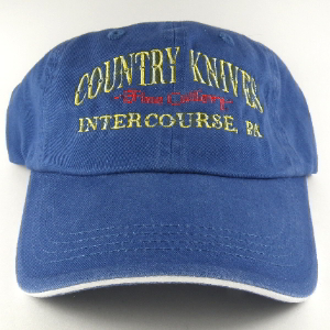 Buy Country Knives  HAT4 Baseball Hat, Blue at Country Knives.