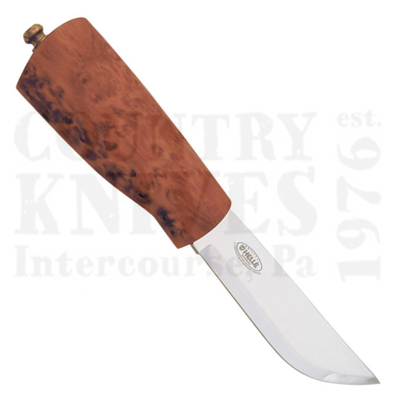 Buy Helle  HE52 Fjellmann - Curly Birch at Country Knives.
