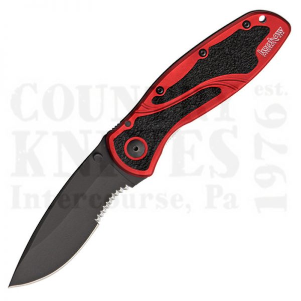 Buy Kershaw  K1670RDBLKST Blur, Red / W-DLC / Partially Serrated at Country Knives.