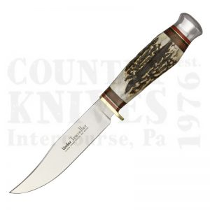 Buy Linder  LND190112 4¾'' Traveller, India Stag at Country Knives.