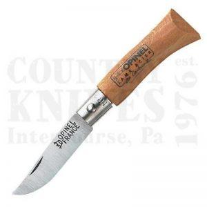 Buy Opinel  OP2 N° 2 - European Beech at Country Knives.